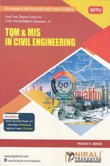 TQM & MIS In Civil Engineering