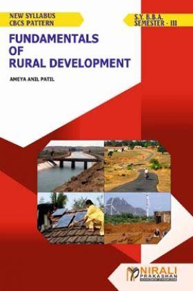 Fundamentals Of Rural Development