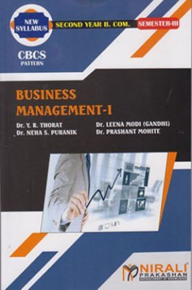 A Book Of Business Management-I
