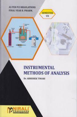 A Text Book of InstrumentalMethode Of Analysis
