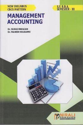 Management Accounting (SYBBA - Sem. - III)