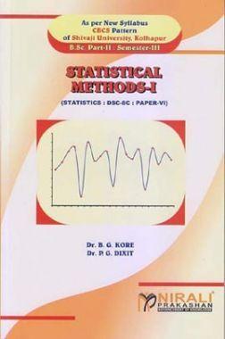 A Book Of Statistics-VI (Statistical Methods I)