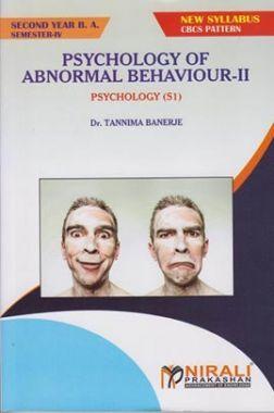 Psychology Of Abnormal Behaviour II