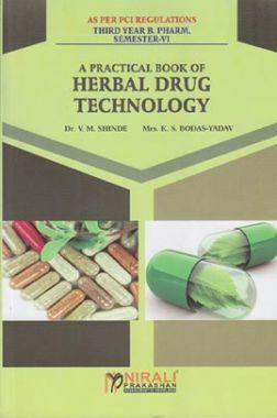 A Practical Book Of Herbal Drug Technology