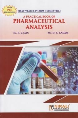 A Practical Book Of Pharmaceutical Analysis