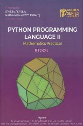 Python Pro-Gramming Language-II