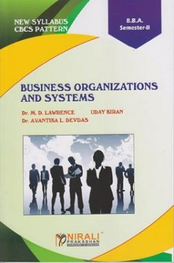 Business Organizations And Systems