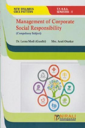 Management Of Corporate Social Responsibility (Compulsory Subject)