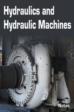 Hydraulics and Hydraulic Machines Notes eBook