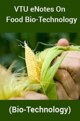 VTU eNotes OnFood Bio-Technology(Bio-Technology)