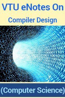 VTUeNotes OnCompiler Design(Computer Science)