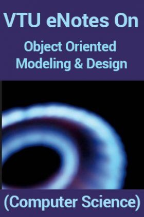 VTUeNotes OnObject Oriented Modeling and Design(Computer Science)