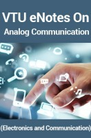 VTU eNotes On Analog Communication (Electronics and Communication)