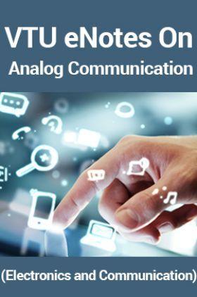 VTUeNotes OnAnalog Communication(Electronics and Communication)