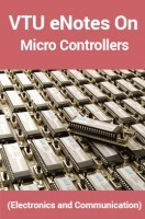 VTU eNotes On Micro Controllers (Electronics and Communication)