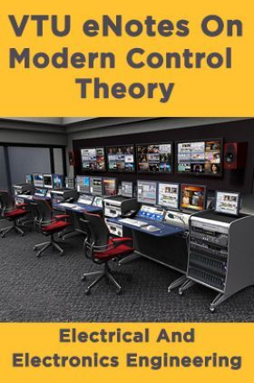 VTU eNotes On Modern Control Theory (Electrical And Electronics Engineering)