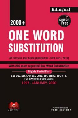 Error Free 2000+ One Word Substitution