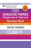 Oswaal Unsolved Paper Question Bank Class 9 Social Science (March 2018 Exam)
