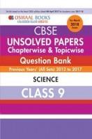 Oswaal Unsolved Paper Question Bank Class 9 Science (March 2018 Exam)