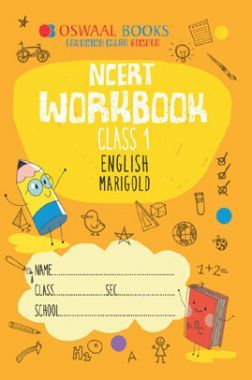 Oswaal NCERT Workbook For Class-1 English Marigold For 2019 Exam