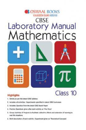 Oswaal CBSE Laboratory Manual Mathematics Class-10 For 2019 Exam