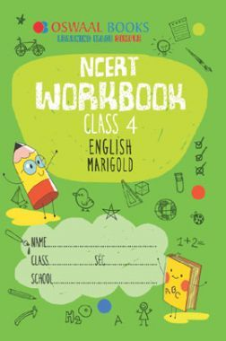 Oswaal NCERT Workbook For Class-4 English Marigold For 2019 Exam