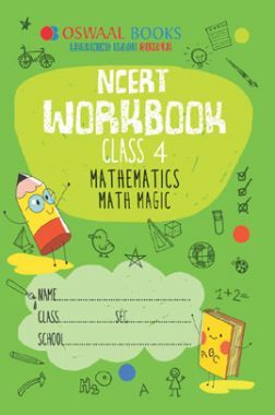 Download Oswaal NCERT Workbook For Class-4 Mathematics Math Magic For 2019  Exam by Panel Of Experts PDF Online