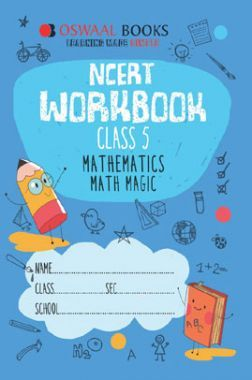 Oswaal NCERT Workbook For Class-5 Mathematics Math Magic For 2019 Exam