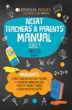 Oswaal NCERT Teachers & Parents Manual For Class-1 English Marigold For 2019 Exam
