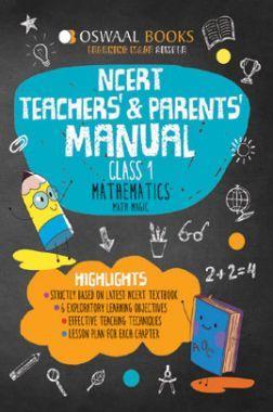 Oswaal NCERT Teachers & Parents Manual For Class-1 Mathematics Math Magic For 2019 Exam