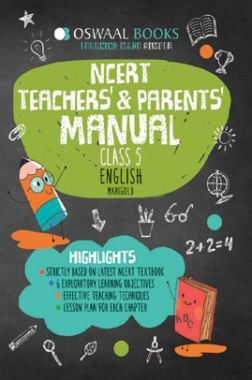 Oswaal NCERT Teachers & Parents Manual For Class-5 English Marigold For 2019 Exam