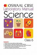 Download Oswaal CBSE Laboratory Manual Class - VI Science For 2019 Exam by  Panel Of Experts PDF Online
