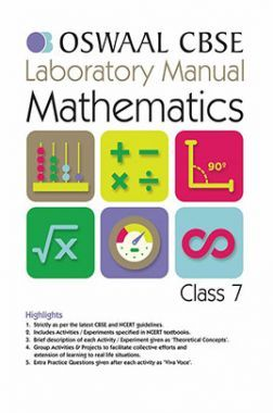 Oswaal CBSE Laboratory Manual Class - VII Mathematics For 2019 Exam