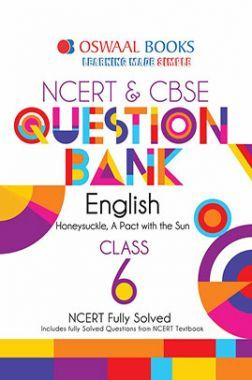 Oswaal NCERT & CBSE Question Bank Class - VI English For 2019 Exam