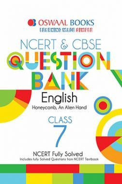 Oswaal NCERT & CBSE Question Bank Class - VII English For 2019 Exam