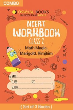 Oswaal NCERT Workbook For Class - II English Marigold, Hindi Rimjhim & Math Magic For 2019 Exam