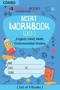 Oswaal NCERT Workbook For Class - V English Marigold, Hindi Rimjhim, Math Magic & Environmental Studies Looking Around For 2019 Exam