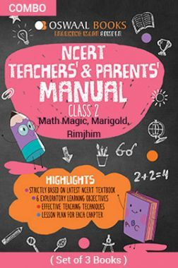 Oswaal NCERT Teachers & Parents Manual For Class - II English Marigold, Hindi Rimjhim & Math Magic For 2019 Exam