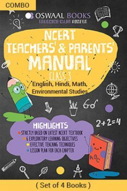 Oswaal NCERT Teachers & Parents Manual For Class - III English Marigold, Hindi Rimjhim, Math Magic & Environmental Studies Looking Around For 2019 Exam