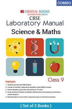 Oswaal CBSE Laboratory Manual For Class - IX Science & Mathematics For 2019 Exam