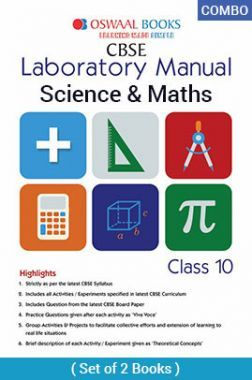 Oswaal CBSE Laboratory Manual For Class - X Science & Mathematics For 2019 Exam