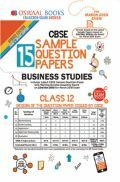 Oswaal CBSE Sample Question Papers For Class XII Business Studies (Mar. 2019 Exam)