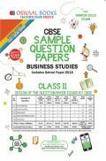 Oswaal CBSE Sample Question Papers For Class XI Business Studies (Mar. 2019 Exam)