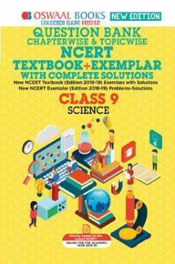 Oswaal NCERT (Solutions Textbook + Exemplar) For Class IX Science (Mar. 2019 Exam)