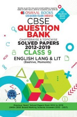 Oswaal CBSE Question Bank Chapterwise & Topicwise Solved Papers For Class - IX English Language & Literature ( For March 2020 Exam )