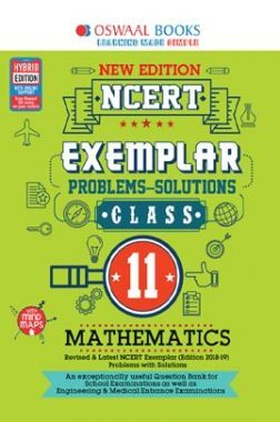 Oswaal NCERT Exemplar (Problems - Solutions) For Class - XI Mathematics (For March 2020 Exam)