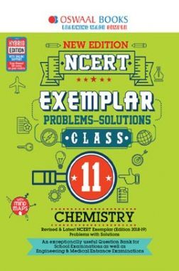 Oswaal NCERT Exemplar (Problems - Solutions) For Class - XI Chemistry (For March 2020 Exam)