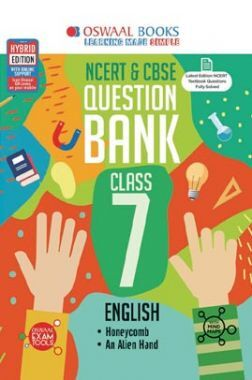 Oswaal NCERT & CBSE Question Bank For Class - VII English (For March 2020 Exam)