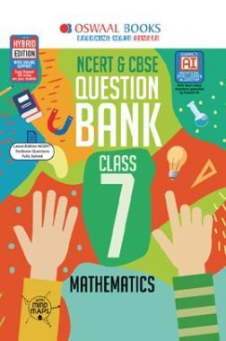 Oswaal NCERT & CBSE Question Bank For Class - VII Mathematics (For March 2020 Exam)