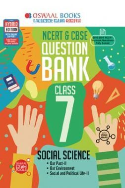 Oswaal NCERT & CBSE Question Bank For Class - VII Social Science (For March 2020 Exam)